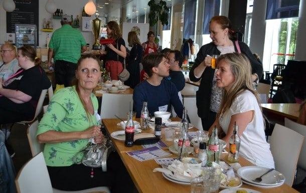 Prokkellunch met gemeente ambtenaren Amsterdam