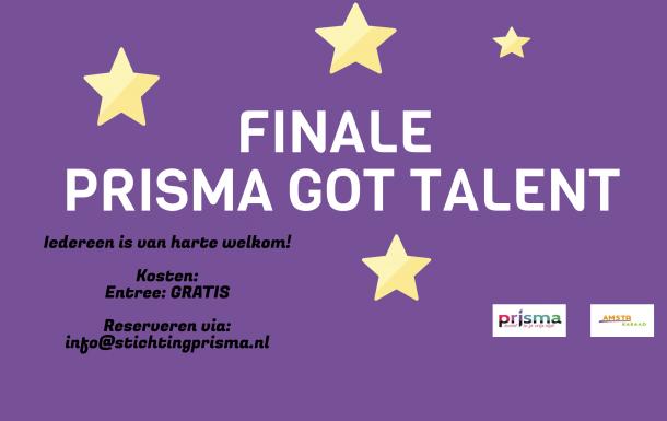 Finale van Prisma Got Talent zaterdag 9 juni
