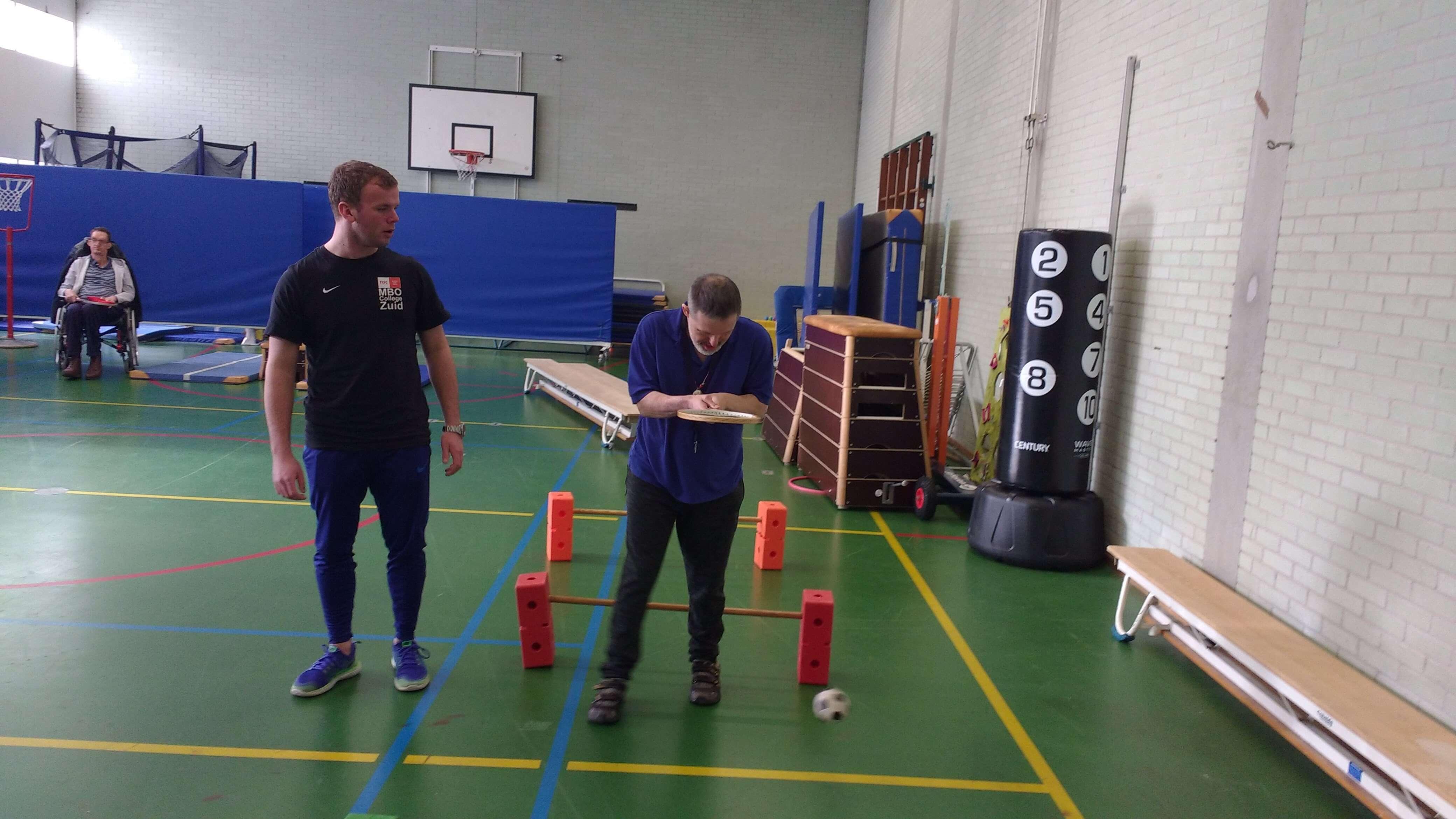 Begeleider sport: Bewegen boven t Y