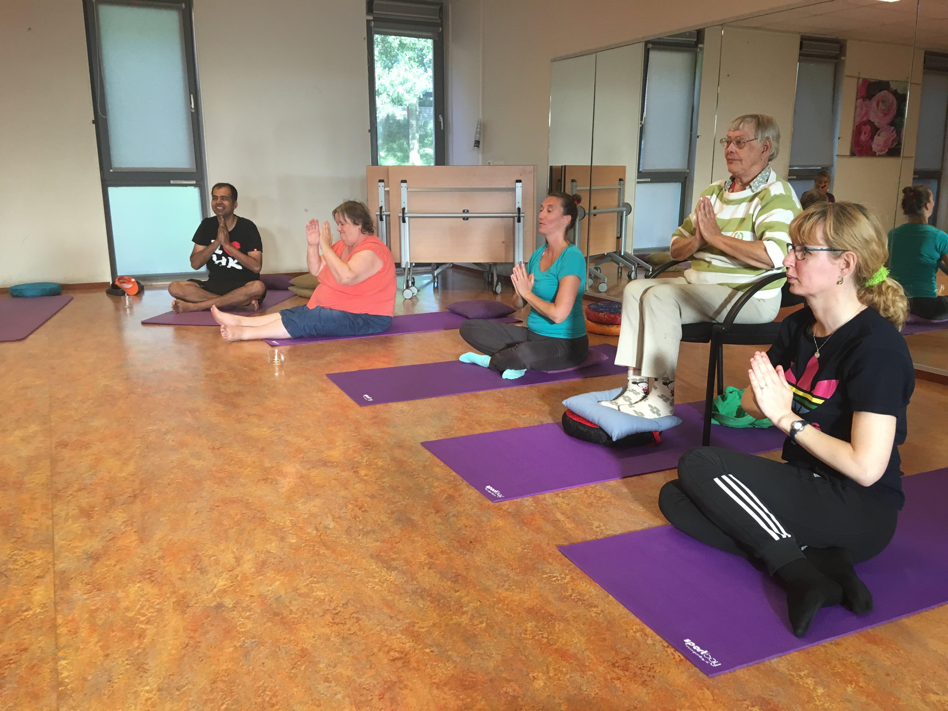 Enthousiaste Yoga assistent(e)