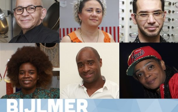 Prisma deelnemers werken aan Bijlmer Youth Magazine