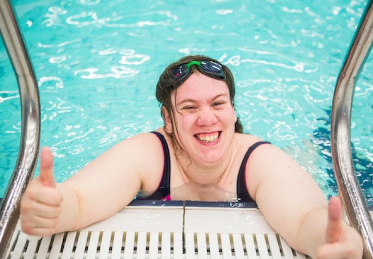 Zwem begeleider Marnix