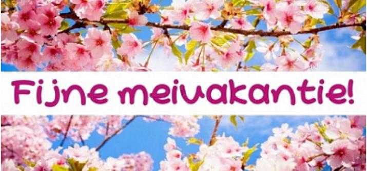 Vakantie voor wekelijkse activiteiten vanaf 27 april tot en met 3 mei