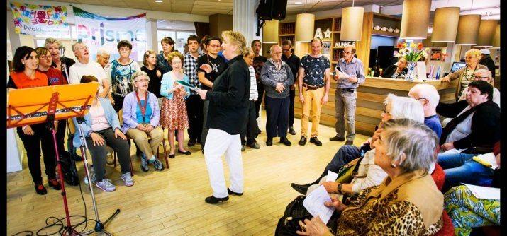 Kom naar gratis optreden van Prisma koor & Gouwe Ouwe koor